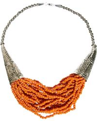 Sam Ubhi - Statement Beaded Necklace - Lyst