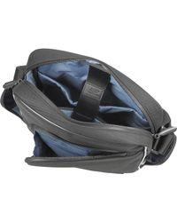 Bric's - Pininfarina - Nylon And Leather Vertical Crossbody Bag - Lyst