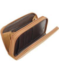 Fontanelli - Leather Zip-around Wallet - Lyst