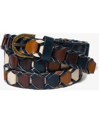 Forever 21 Colorblocked Waist Belt - Lyst