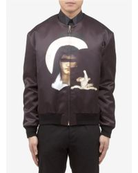 Givenchy Madonna and Baby Jesus Print Bomber Jacket - Lyst