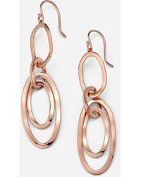 Ippolita 'Scultura' Rose Multi Oval Earrings - Lyst