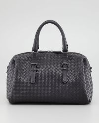 Bottega Veneta New Boston Medium Top-Handle Bag - Lyst