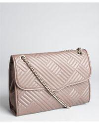 Rebecca Minkoff Lavender Quilted Leather Large Affair Shoulder Bag - Lyst