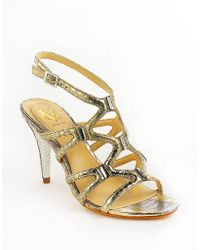 Vc Signature Vogue Crystal Embellished Sandals - Lyst