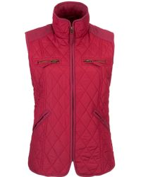 John Lewis - Light Quilted Gilet Jacket - Lyst