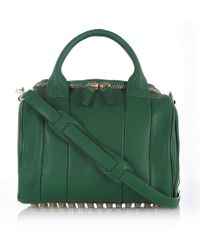 Alexander Wang The Rockie Small Studded Bag - Lyst