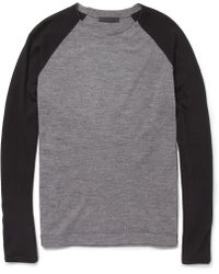 Alexander Wang Raglan Sleeve Merino Wool Sweater - Lyst