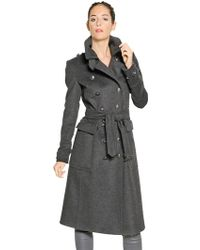 Burberry Brit | Sheeran Military Cashmere Blend Coat | Lyst