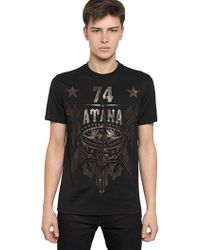 Givenchy Satana Cuban Fit Cotton Jersey T-Shirt - Lyst
