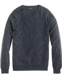 J.Crew Cotton-Cashmere Crewneck Sweater - Lyst