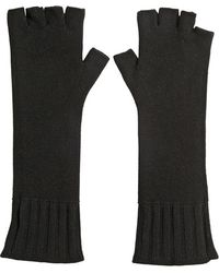John Varvatos - Fingerless Cashmere Knit Gloves - Lyst