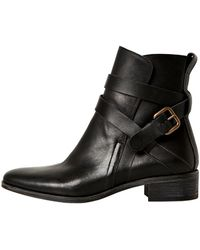 See By Chloé 30mm Belted Calfskin Boots - Lyst
