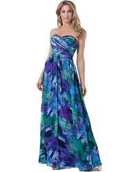 Js Boutique Multicolored Pattern Dress - Lyst