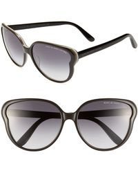 Marc By Marc Jacobs 59mm Butterfly Sunglasses - Lyst
