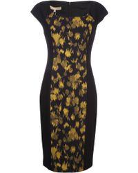 Michael Kors Sheath Crepe Dress - Lyst