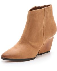 Boutique 9 - Isoke Mid Heel Booties - Lyst