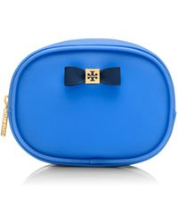 Tory Burch Bow Small Cosmetic Case - Lyst