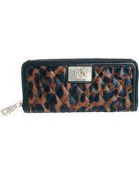 Love Moschino - Quilted Leopard Print Zip Around Wallet - Lyst