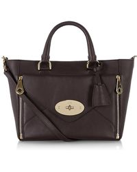 Mulberry - Small Willow Silky Calf Leather Tote - Lyst