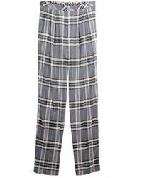 Sea - Plaid Trousers - Lyst