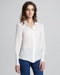 Theyskens' Theory - Bamga Button down Shirt - Lyst