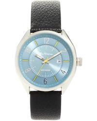 Ben Sherman Leather Strap Watch Bs017 - Lyst