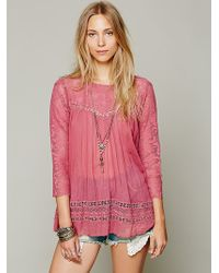 Free People Fp One Golden Age Top - Lyst