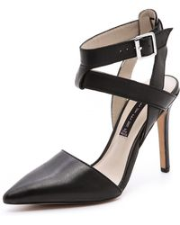 Steven by Steve Madden Whisp Strappy Pumps - Lyst