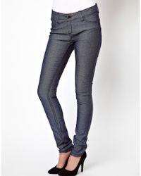 Tripp Nyc - Reversible Jean In Cheetah Print - Lyst