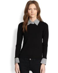 Alice + Olivia Wiley Convertible Sweater - Lyst