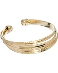 ASOS - Limited Edition Textured Cuff Bracelet - Lyst