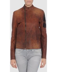 Bad Spirit - Leather Outerwear - Lyst