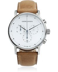 Georg Jensen - Koppel Leather Watch - Lyst