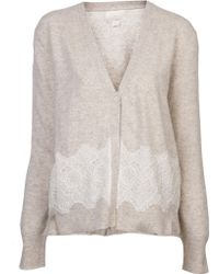 Girl by Band of Outsiders - Vneck Cardigan - Lyst