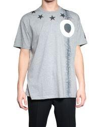 Givenchy Tshirt Amerika gray - Lyst
