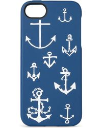 J.Crew | Anchors Aweigh Printed Rubber Iphone 5 Case | Lyst