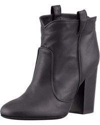 Laurence Dacade Pete Pull-On Leather Ankle Boot - Lyst