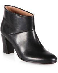 Maison Margiela Leather Ankle Boots - Lyst