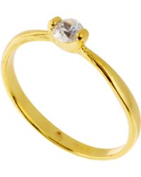 ASOS Collection Limited Edition Tiny Stone Pinky Ring - Lyst