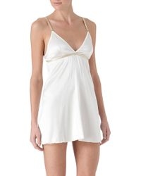 Dirty Pretty Things | Eve Silk Slip | Lyst