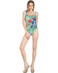 Gottex Last Stop Floral Print Tank Swimsuit - Lyst