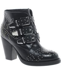 Ben Sherman Asos Astronomy Studded Leather Ankle Boots - Lyst