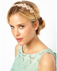 ASOS - Limited Edition Paisley Chain Hairband - Lyst