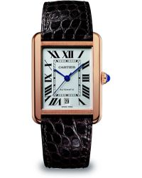 Cartier Tank Solo 18k Pink Gold Extralarge Watch - Lyst