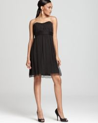 Amsale - Strapless Dress Short - Lyst