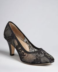 Anyi Lu - Peep Toe Court Shoes Pamela - Lyst