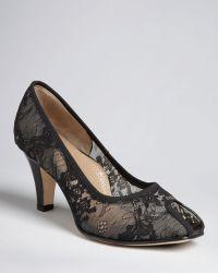 Anyi Lu - Peep Toe Court Shoes Pamela - Lyst