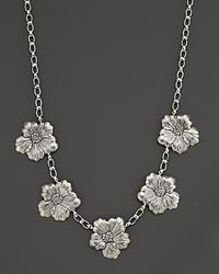 Buccellati | Blossom 5 Medium Flower Necklace with Gold Accents 21 | Lyst