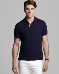 Burberry Brit Shortsleeve Slim Polo - Lyst